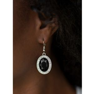 Paparazzi - Black - Earrings - #217